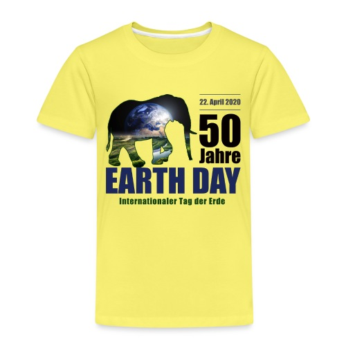 50 Jahre EARTH DAY - Kinder Premium T-Shirt