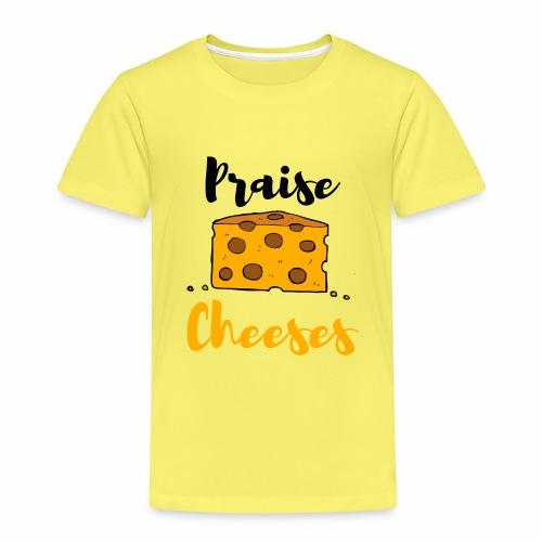 PRAISE JESUS LUSTIGES CHRISTLICHES SHIRT - Kinder Premium T-Shirt