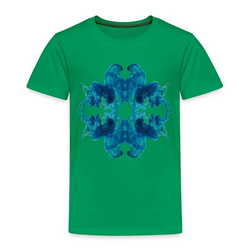 Tintenklecks unter Wasser - Kinder Premium T-Shirt