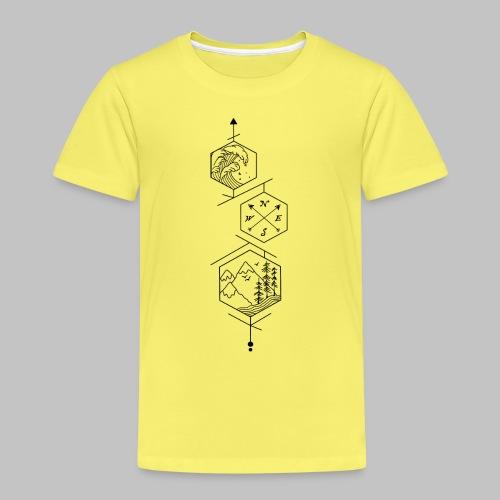 hexagones - Kids' Premium T-Shirt