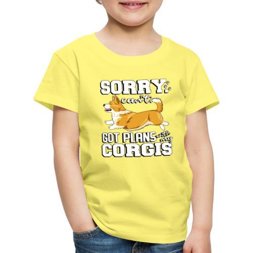 corgiplans - Lasten premium t-paita