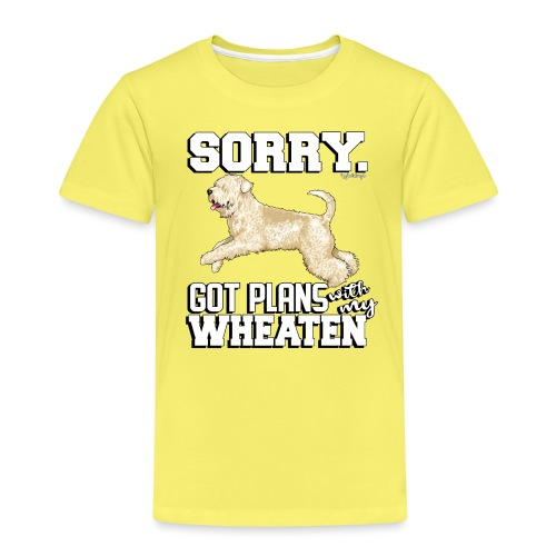 Wheaten Terrier Plans 2 - Kids' Premium T-Shirt
