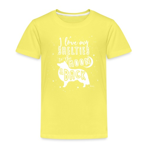 Sheltie Moon 2 - Kids' Premium T-Shirt