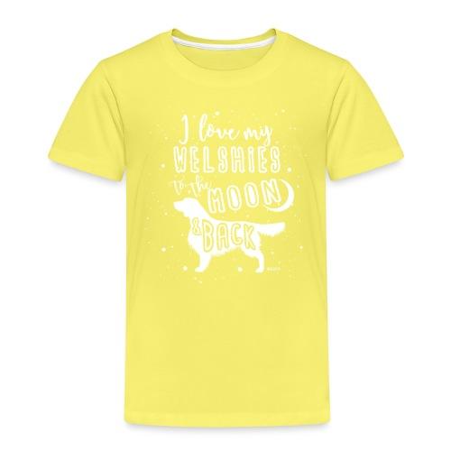 Welsh Springer Spaniel Moon 2 - Kids' Premium T-Shirt