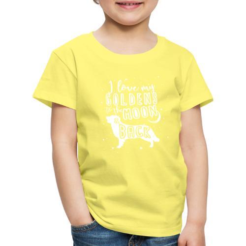 Golden Moon - Lasten premium t-paita