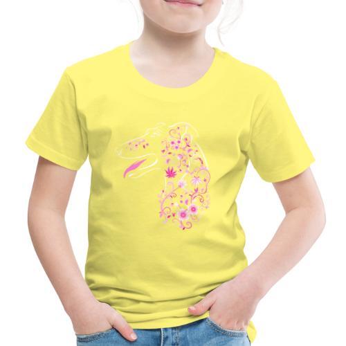 Kukkaisgalgo II - Lasten premium t-paita
