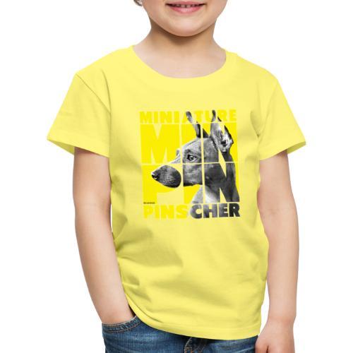 Minpin V - Lasten premium t-paita