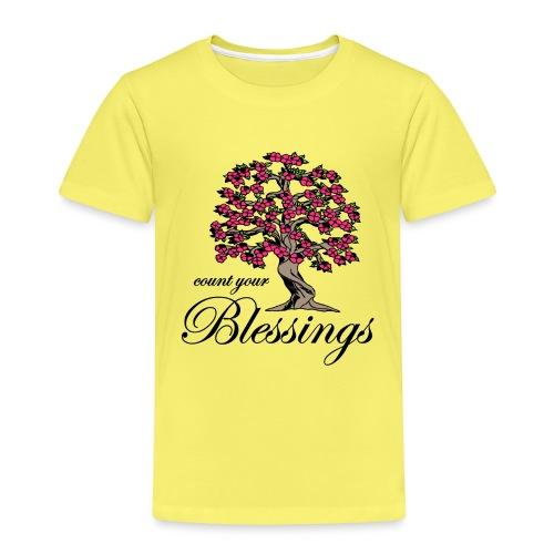 Sany O. Jesus T Shirt Blessings Segen Lebensbaum - Kinder Premium T-Shirt