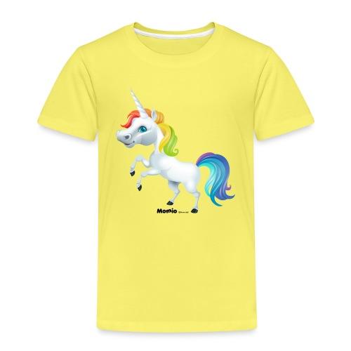 Rainbow enhjørning - Premium T-skjorte for barn