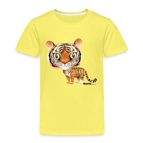 Tiger - Premium T-skjorte for barn