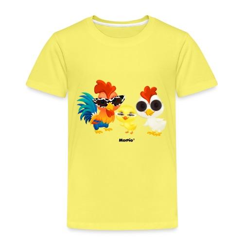 Huhn - von Momio Designer Emeraldo. - Kinder Premium T-Shirt