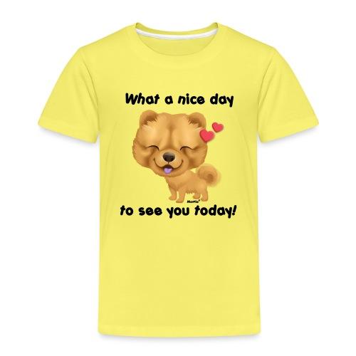 Nice day by Niszczacy - Premium T-skjorte for barn