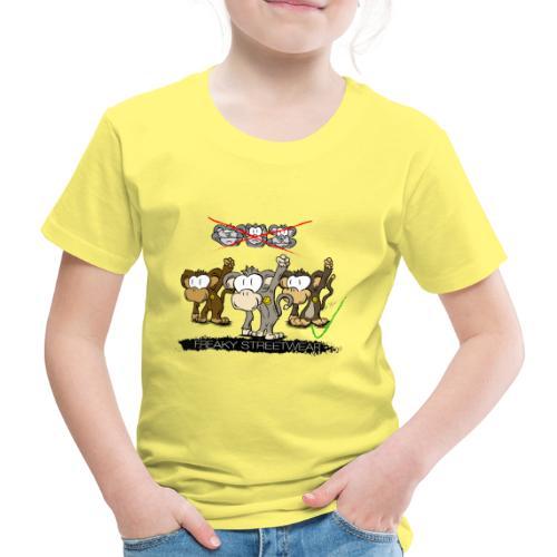 Protest-Äffchen 2 - Kinder Premium T-Shirt