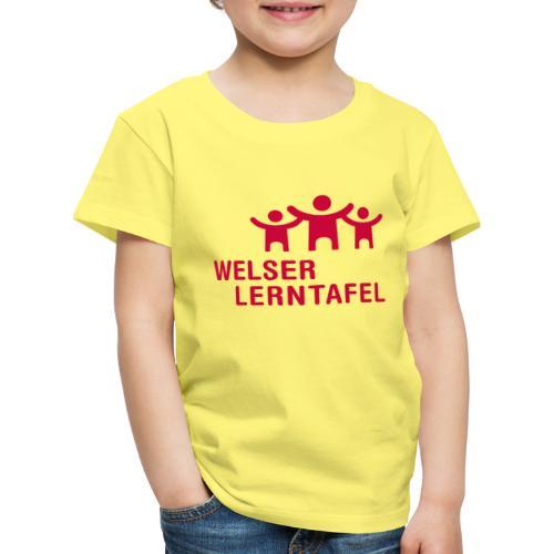 Welser Lerntafel - Kinder Premium T-Shirt
