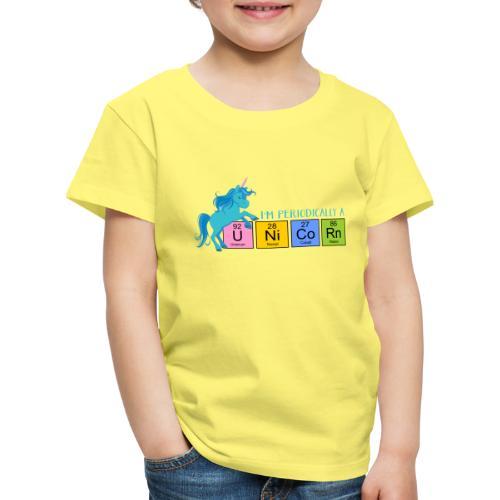 Periodic Table Of Chemical Elements UNICORNS 5 - Kinder Premium T-Shirt