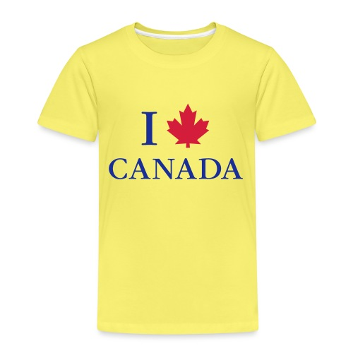 I love Canada Ahornblatt Kanada Vancouver Ottawa - Kinder Premium T-Shirt