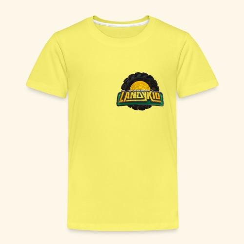 LandyKid Logo XL trans png - Kids' Premium T-Shirt