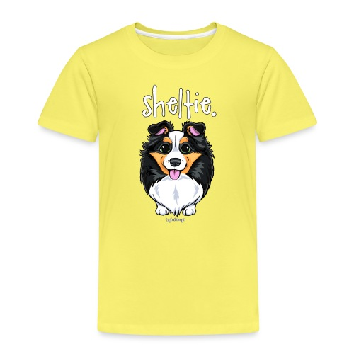 Sheltie Dog Cute 6 - Kids' Premium T-Shirt