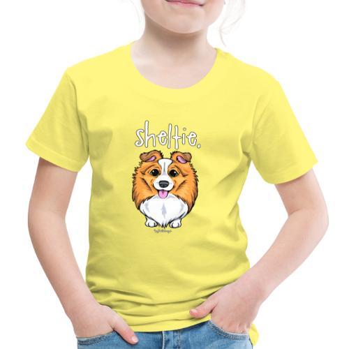 Sheltie Dog Cute 5 - Lasten premium t-paita