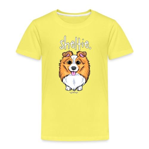 Sheltie Dog Cute 5 - Kids' Premium T-Shirt