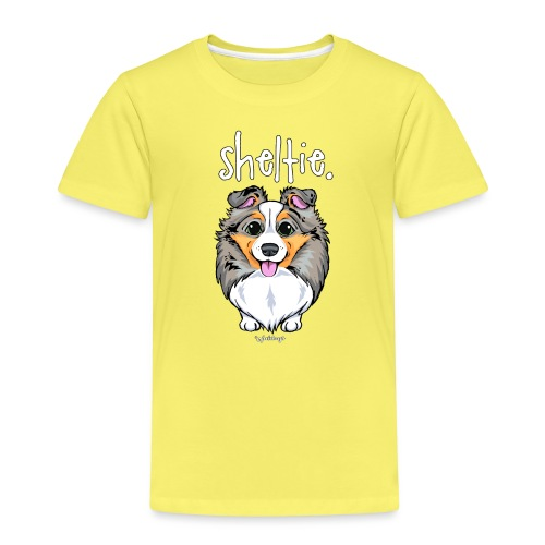 Sheltie Dog Cute 4 - Kids' Premium T-Shirt
