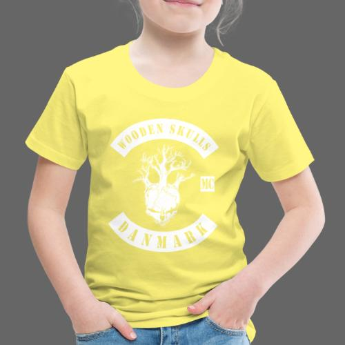 Wooden Skulls - Børne premium T-shirt