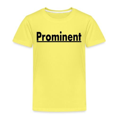 prominent promi Berühmtheit - Kinder Premium T-Shirt