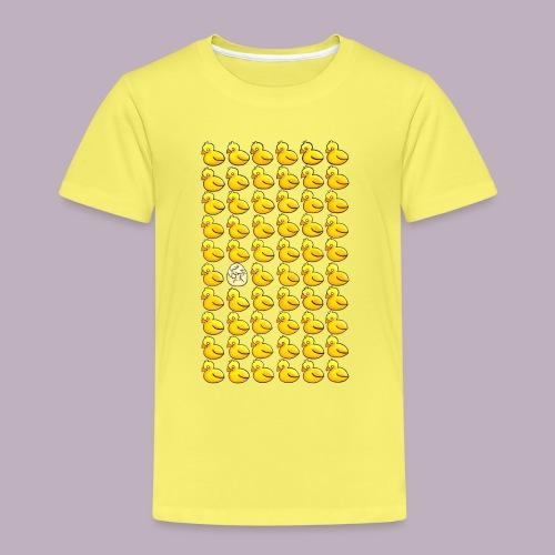 Patitos en fila - Camiseta premium niño