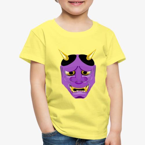 Demon Mask Purple - Kids' Premium T-Shirt