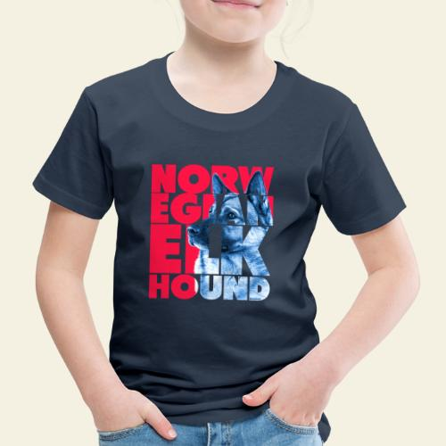 NASSU Norjanharmaa 3 - Lasten premium t-paita