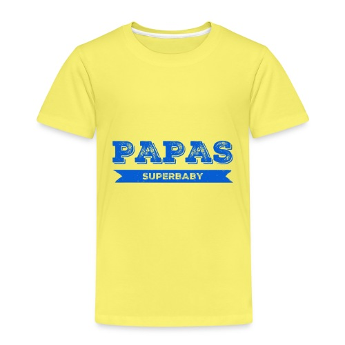 Papas Superbaby - Kinder Premium T-Shirt
