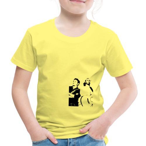 Das Schwarz-Weiße Bild - Kinder Premium T-Shirt