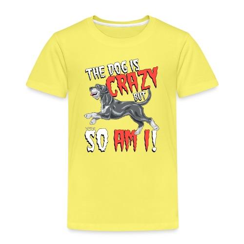 Giant Schnauzer Riesen Crazy - Kids' Premium T-Shirt