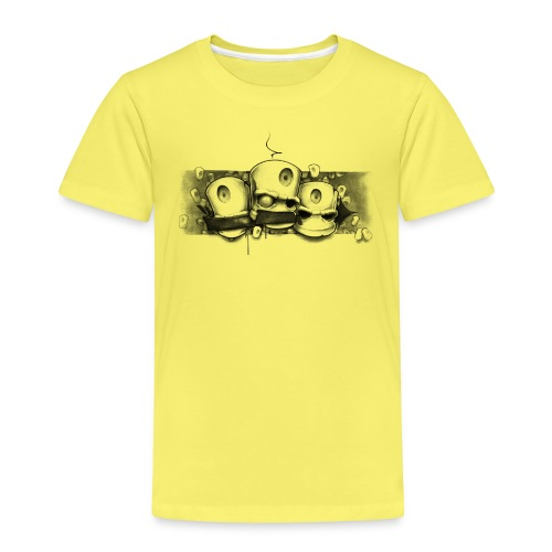 see no evil ! Moe Frisco Ver01 - Børne premium T-shirt