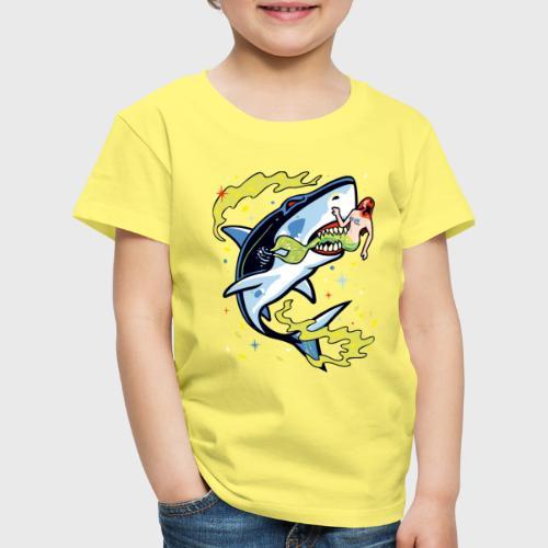 Requin mangeur de sirène - T-shirt Premium Enfant