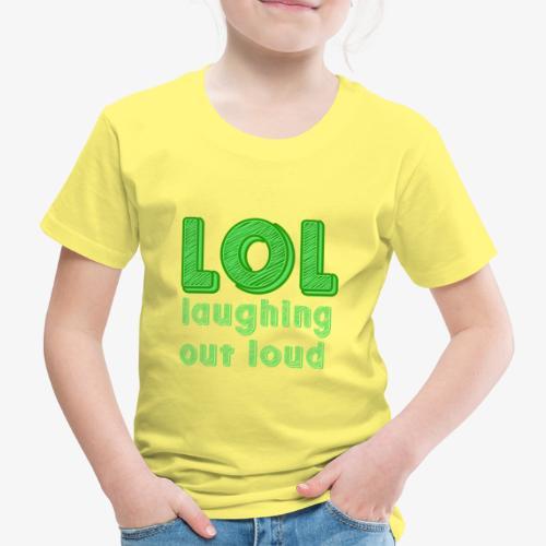 LOL - Laughing Out Loud - Camiseta premium niño