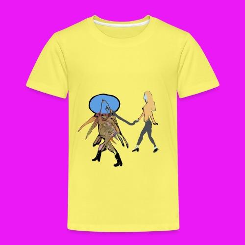 walk your fish - Kids' Premium T-Shirt