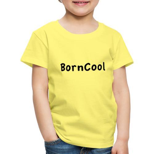 BornCool, svart - Premium-T-shirt barn