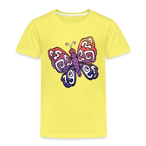 Schmetterling Butterfly Insekt Frühling - Kinder Premium T-Shirt