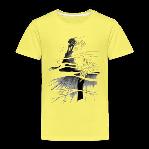 Ein Ort (grau) - Kinder Premium T-Shirt