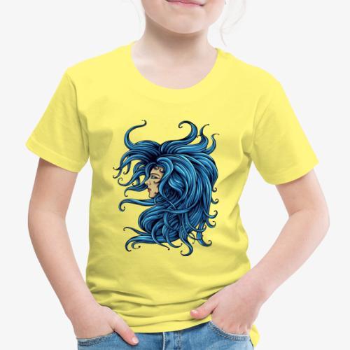 Dame dans le bleu - T-shirt Premium Enfant