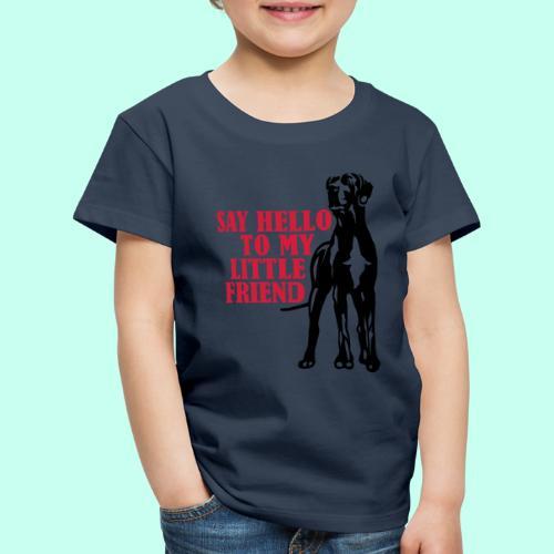Say Hello To My Little Friend - Kinder Premium T-Shirt