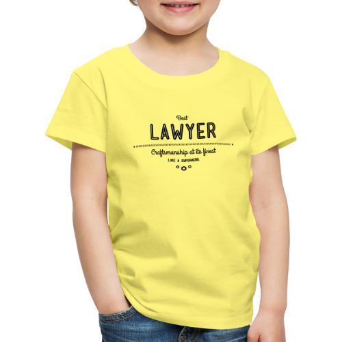 Bester Anwalt - wie ein Superheld - Kinder Premium T-Shirt