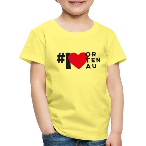 # I LOVE ORTENAU - Kinder Premium T-Shirt