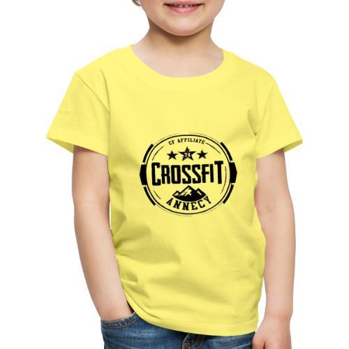 Logo Officiel Noir - T-shirt Premium Enfant