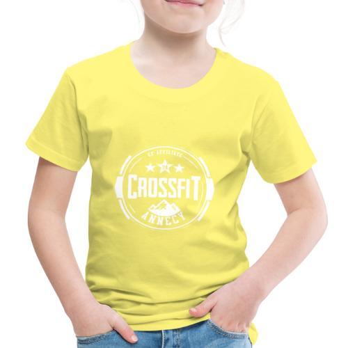 Logo Officiel Blanc - T-shirt Premium Enfant