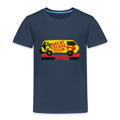 Plakat-TGE-Tour - Kinder Premium T-Shirt