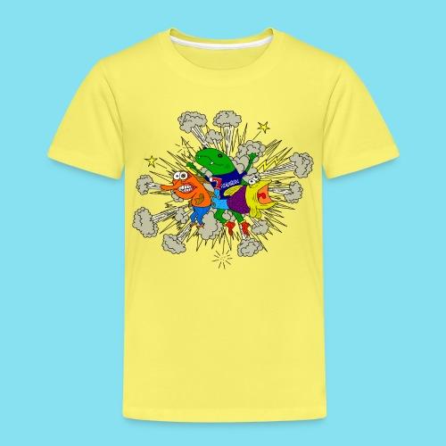 Fischkniegedöns weiß T-Shirts - Kinder Premium T-Shirt