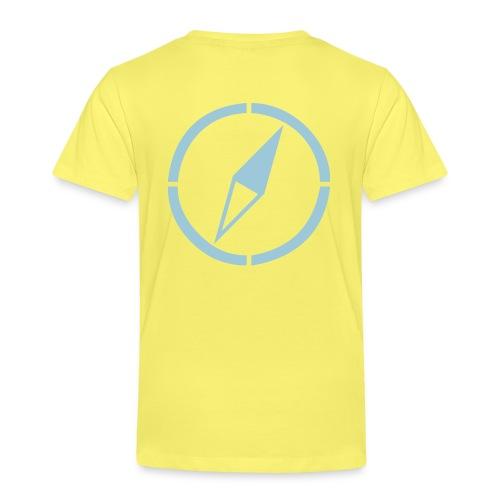 dogsports on track kompass - Kinder Premium T-Shirt