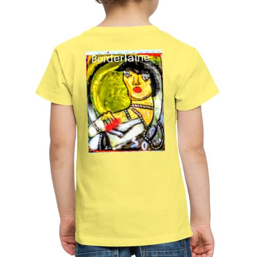 covid borderline - Maglietta Premium per bambini